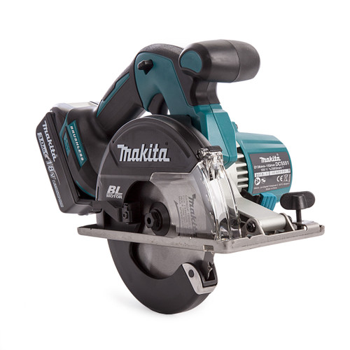 Makita DCS551 18V Metal Saw 150mm (2 x 3.0Ah Batteries) - 8