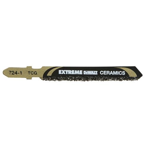 Dewalt DT2102 T130RIFF Extreme Ceramics Cutting Jigsaw Blades (Pack Of 1) - 1