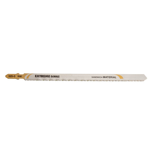 Dewalt DT2084 Extreme 180mm Long Life Bi-Metal Jigsaw Blades (Pack of 5) - 1