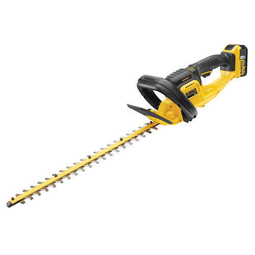 Dewalt DCM563P1 18V XR Cordless Hedge Trimmer (1 x 5.0Ah Battery) - 2