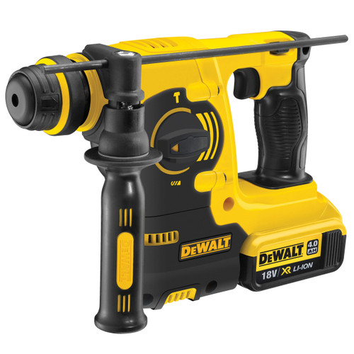 Dewalt DCH253M2 18V XR SDS+ Rotary Hammer Drill (2 x 4.0AH Batteries) - 5