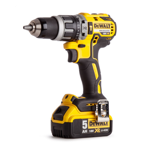 Dewalt DCD796P2 18V XR Brushless Compact Combi Drill (2 x 5.0Ah Batteries) - 5