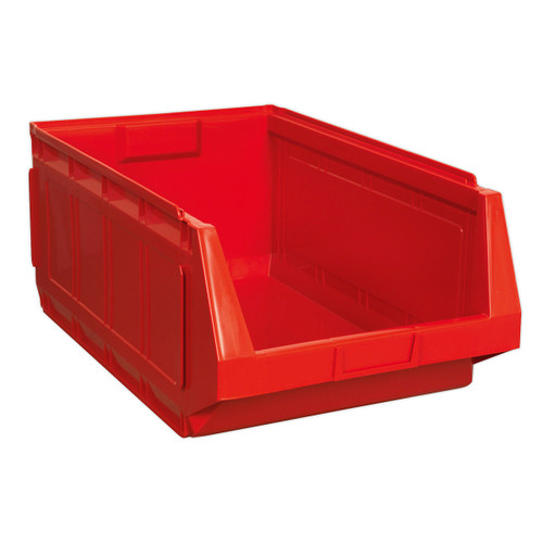 Buy Sealey SSB01R Stackable Storage Bin 370 X 580 X 250mm - Red Pack Of 4 at Toolstop