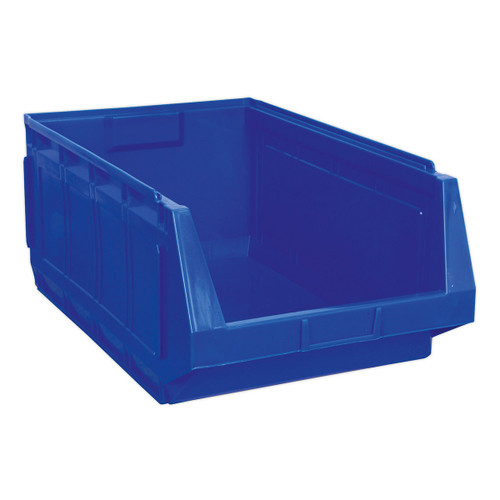 Buy Sealey SSB01B Stackable Storage Bin 370 X 580 X 250mm - Blue Pack Of 4 at Toolstop