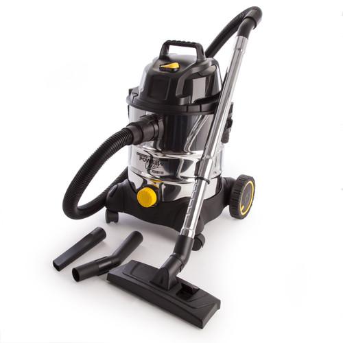 Sealey PC200SD110V Vacuum Cleaner Industrial Wet & Dry 20ltr 1250w/110v Stainless Bin - 4