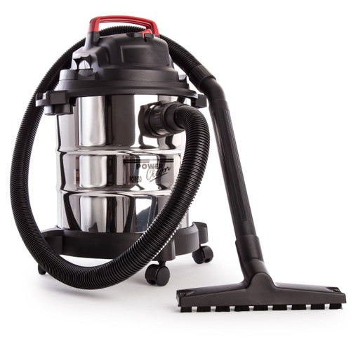 Sealey PC195SD Vacuum Cleaner Wet & Dry 20ltr 1250w Stainless Drum 240V - 3