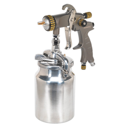 Buy Sealey HVLP02 Hvlp Suction Feed Spray Gun 1.7mm Set-up at Toolstop