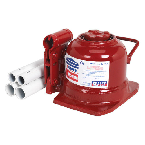 Buy Sealey BJ10LE Bottle Jack 10tonne Low Entry Telescopic for GBP74.17 at Toolstop