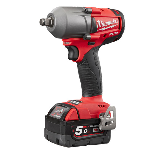 Milwaukee M18FMTIWF12-503X M18 FUEL Impact Wrench Mid Torque 1/2in (3 x 5.0Ah Batteries) - 7