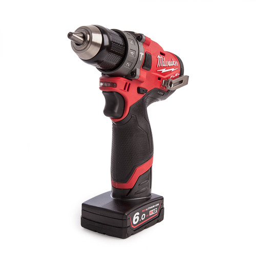Milwaukee M12FPD-602X 12V Fuel Percussion Drill (2 x 6.0Ah Batteries) - 4