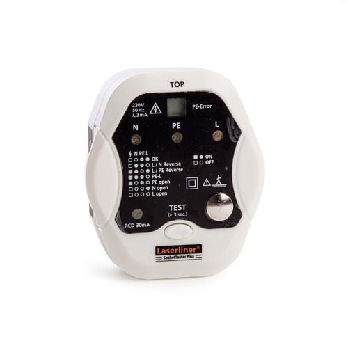 Buy Laserliner 083.027GB SocketTester Plus  at Toolstop