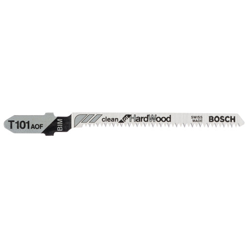 Bosch T101AOF (2608634233) Jigsaw Blades for Hardwood 83mm - 5 Pack - 1