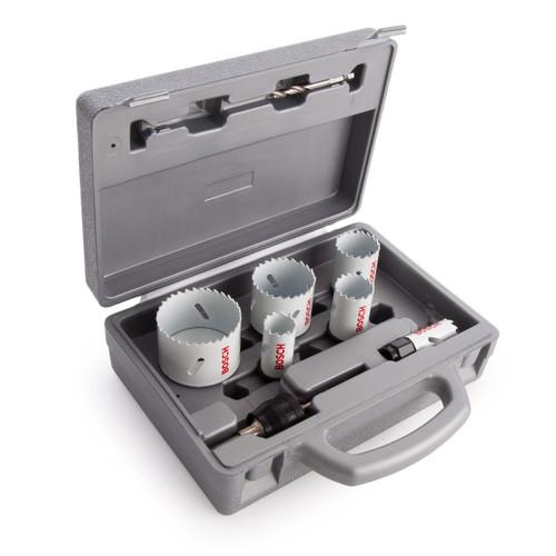 Bosch 2608584670 HSS-Bimetal Progressor Holesaw Kit (9 Piece) - 1