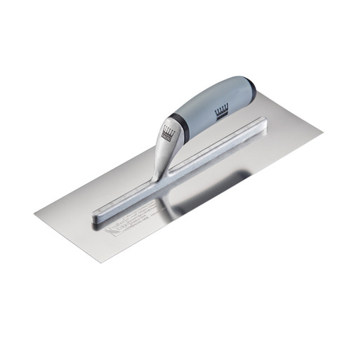 Buy Ragni R618S-16HL Feather Edge Stainless Finishing Trowel (High Lift) 16 Inch at Toolstop
