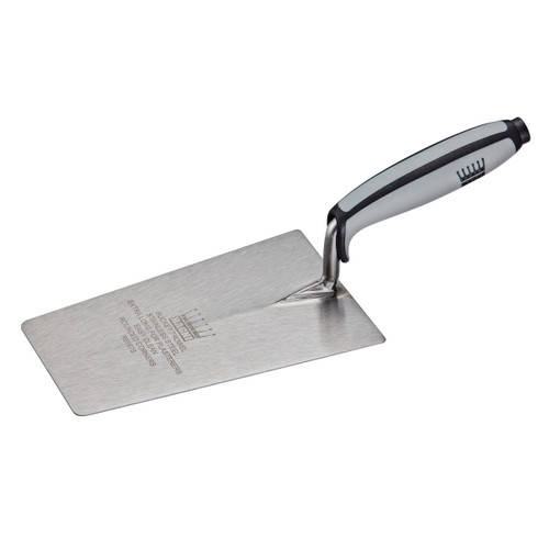 Buy Ragni R6167S Stainless Steel Plasterers Bucket Trowel 7 Inch at Toolstop