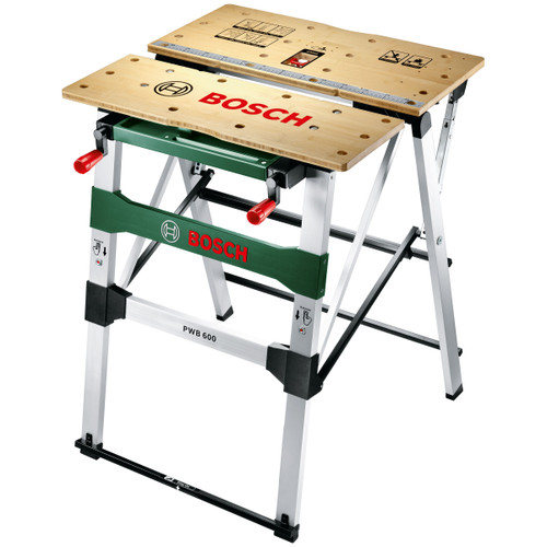 Bosch PWB600 Mobile Work Bench - 6
