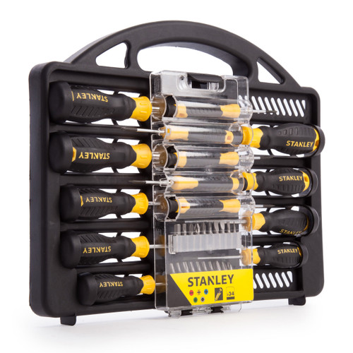 Stanley STHT0-62141 Screwdriver Set with Bits (34 Piece) - 2