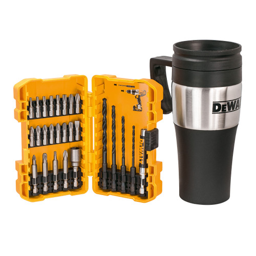 Dewalt DT71580 Drill & Screwdriver Bit Set with Thermal Mug (26 Piece) - 2
