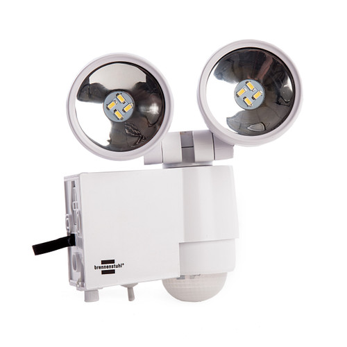 Brennenstuhl 1170920 Solar LED-Spot SOL 2x4 IP44 with PIR Sensor - 2