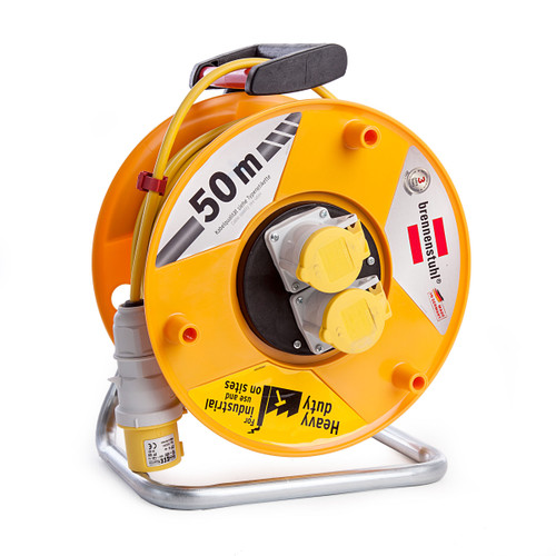 Buy Brennenstuhl 1138873 Garant CEE 2 Cable Reel 50m 110V for GBP41.67 at Toolstop