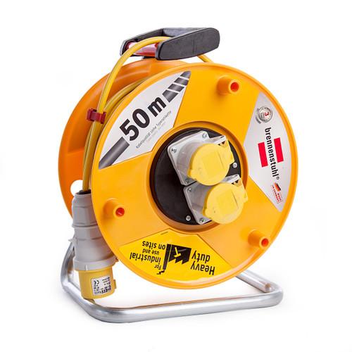 Buy Brennenstuhl 1138873 Garant CEE 2 Cable Reel 50m 110V at Toolstop