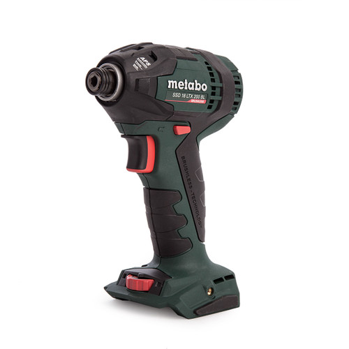 Metabo SSD 18 LTX 200 BL 18V Brushless Impact Driver (Body Only) - 5