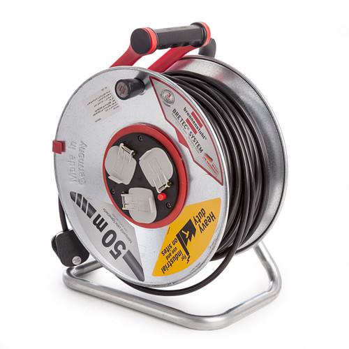 Buy Brennenstuhl 1198863 Cable Reel Garant S3 Bretec 50m 240V at Toolstop