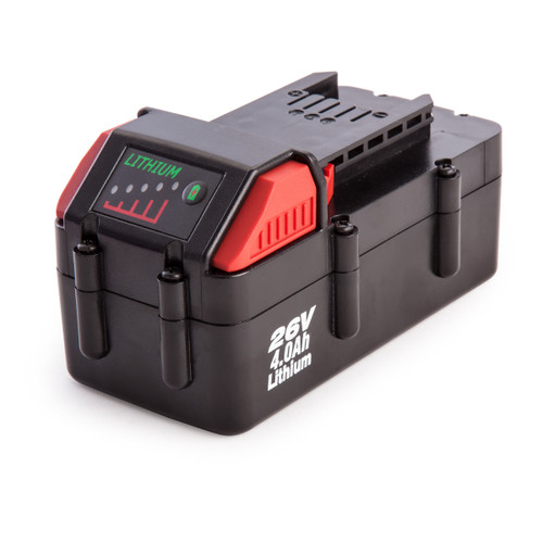 Sealey CP26BP Li-ion 26V 4.0Ah Battery for CP2612 and CP2634 Impact Wrenches - 3