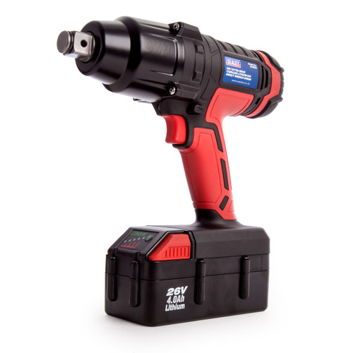 Sealey CP2634  26V Cordless Impact Wrench 816Nm 3/4in Drive (1 x 4.0Ah Battery) - 4
