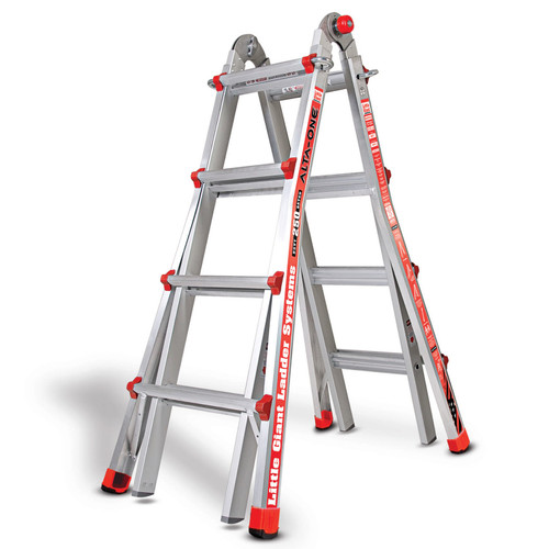 Little Giant 1303-501 Alta One Aluminium Multi-Purpose Ladder 4 Tread - 3