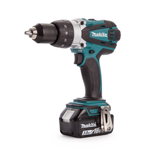 Makita DHP458RF3J 18V Compact 2-Speed Combi Drill (3 x 3.0Ah Batteries) - 5