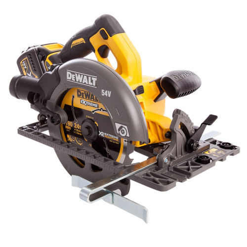 Dewalt DCS576T2 54V XR Flexvolt Circular Saw 190mm (2 x 6.0Ah Batteries) - 6