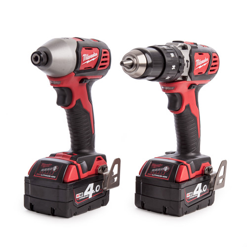 Milwaukee M18 BPP2C-402C Li-ion Combi-Drill and Impact Driver (2 x 4.0Ah Batteries) - 5
