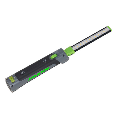 Buy Sealey LED180 Rechargeable Slim Folding Inspection Lamp 12 + 1 SMD LED Lithium-ion at Toolstop