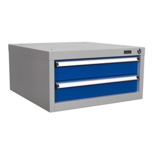Buy Sealey API9 Double Drawer Unit For Api Series Workbenches at Toolstop