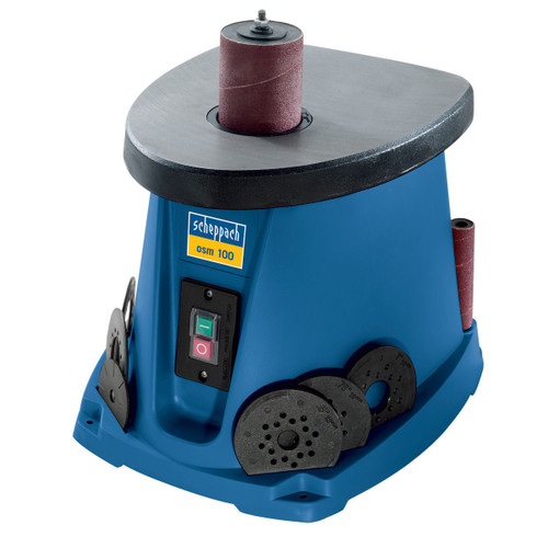 Buy Scheppach OSM100 Oscillating Bobbin Sander 240V at Toolstop