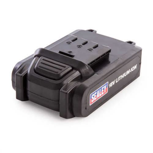 Sealey CPNG18BP Power Tool Battery 18v 2ah Lithium-ion for CPNG18 Nail / Staple Gun - 2