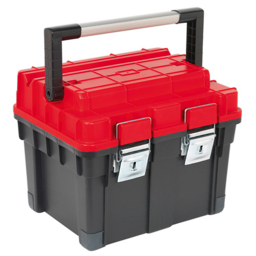 Buy Sealey AP1112 Toolbox With Tote Tray 440mm at Toolstop