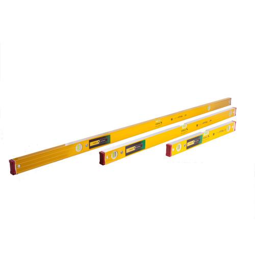 Stabila 96-2 Spirit Level Triple Pack 61cm, 1220mm & 1830mm - 6
