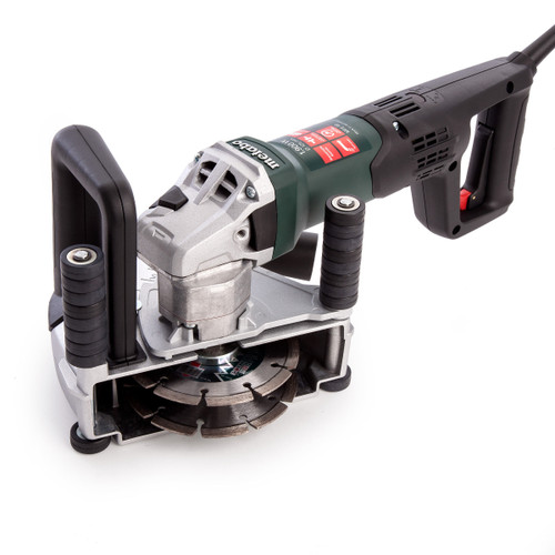 Buy Metabo MFE 40 Wall Chaser with 2 x 125mm Cutting Discs and Carry Case 110V at Toolstop