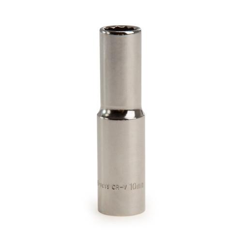 Buy Draper 27103 (DT-MMB) Expert 10mm 3/8in Square Drive Hi-torq 12 Point Deep Socket at Toolstop