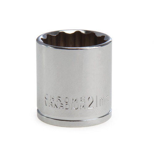 Buy Draper 13241 (D-MM) Expert 21mm 3/8in Square Drive Hi-torq Bi-hexagon Socket for GBP1.67 at Toolstop
