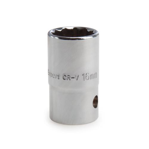 Buy Draper 13236 (D-MMB) Expert 16mm 3/8in Square Drive Hi-torq 12 Point Socket at Toolstop