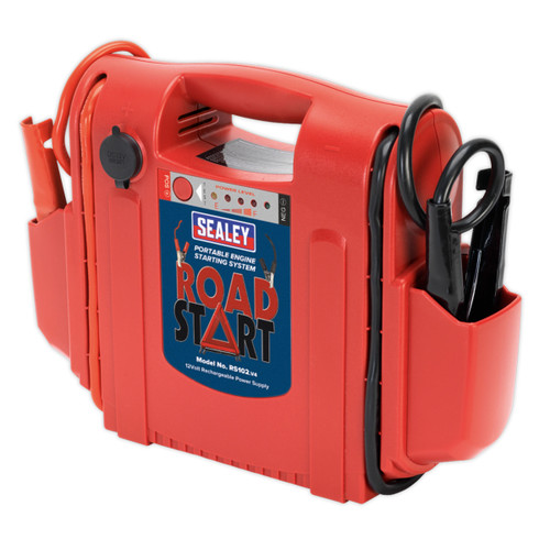 Buy Sealey RS102 Roadstart Emergency Power Pack 12V 1600 Peak Amps at Toolstop
