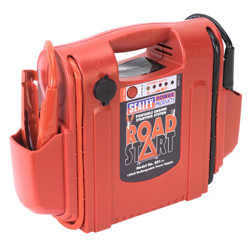 Buy Sealey RS1 Roadstart Emergency Power Pack 12v 1000 Peak Amps at Toolstop
