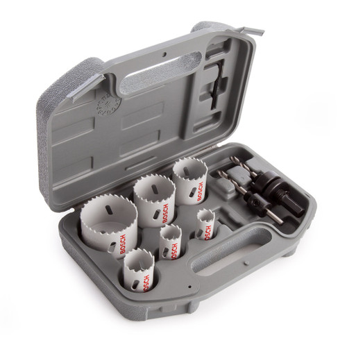 Bosch 2608580803 HSS Plumbers Holesaw Set (9 Piece) - 1