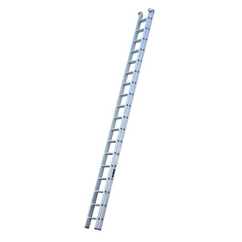 Youngman 570116 Trade 200 2 Section Aluminium Extension Ladder 5.40 - 9.75 Metres - 1