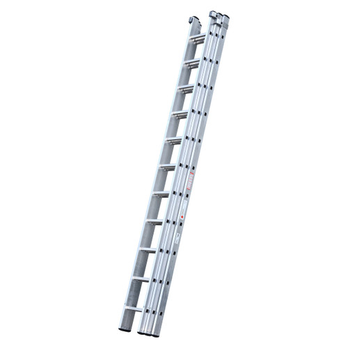 Youngman 570013 DIY 100 3 Section Extension Ladder 3.37 - 8.59 Metres - 2