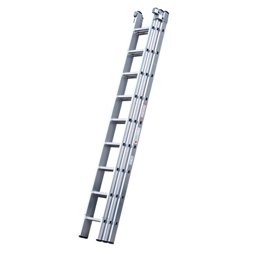 Youngman 570012 DIY 100 3 Section Extension Ladder 2.79 - 6.85 Metres - 2