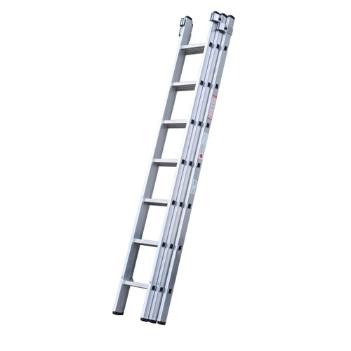 Youngman 570011 DIY 100 3 Section Extension Ladder 2.21 - 5.11 Metres - 2